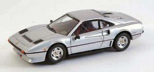 【送料無料】模型車 モデルカー スポーツカーベストモデルフェラーリターボシルバーモデルjm 2119808 best model bt9338 ferrari 208 gtb turbo 1982 silver 143 model