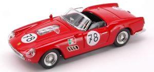 【送料無料】模型車 モデルカー スポーツカーアートモデルフェラーリカリフォルニアキロjm2119263art model am0196 ferrari 250 california n78 accident 1000 km nurburgri