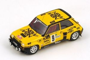 【送料無料】模型車 モデルカー スポーツカースパークモデルルノーターボモンテカルロサビーjm 2134421 spark model s3854 renault r5 turbo n9 5th monte carlo 1982 b sabyf