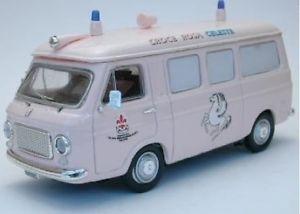 【送料無料】模型車 モデルカー スポーツカーリオリフィアットクロスピンクモデルjm2140507rio ri414109 fiat 238 ambulance cross pink 143 model