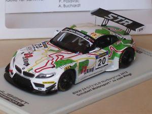 【送料無料】模型車 モデルカー スポーツカースパークニュルブルクリンクグアテマラリングspark 143 bmw z4 gt3 from nrburgring 2012 yes to the ring hrtgen posavac buch