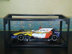 【送料無料】模型車 モデルカー スポーツカールノーアロンソrenault r28 f alonso norev 2008 118