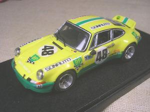 【送料無料】模型車 モデルカー スポーツカーポルシェルマングレッグトロンporsche 911 gr4 sonauto bp 24 h le mans 1973 greggchasseuil tronamr 143