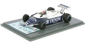 【送料無料】模型車 モデルカー スポーツカーチーバーフランススパークf1 osella fa1 cheever french gp 1980 143 spark s4851