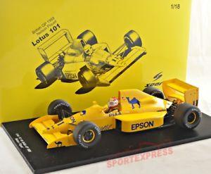 【送料無料】模型車 モデルカー スポーツカースパークロータスイギリスネルソンピケ# 118 spark 18s231 lotus 101, british gp 1989 nelson piquet 11