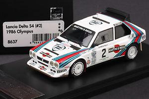 【送料無料】模型車 モデルカー スポーツカーランチアデルタマティーニ#オリンパスラリー#last one lancia delta s4 *martini* 2 1986 olympus rally hpi 8637 143