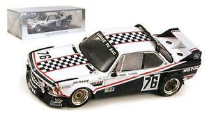 【送料無料】模型車 モデルカー スポーツカースパーク#ルマンスケールspark s1572 bmw 30 csl 76 le mans 1977 039;depnic039;coulon 143 scale