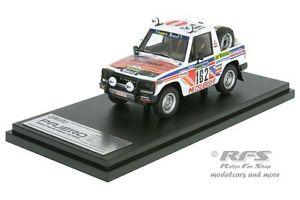 【送料無料】模型車 モデルカー スポーツカーパジェロラリーパリダカールドビュッシーmitsubishi pajero rallye parisdakar 1983 debussy 143 hpi 8878