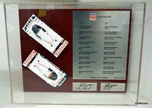【送料無料】模型車 モデルカー スポーツカートヨタイーグルセットジョーンズフアンtsm 143 11ss1 toyota eagle mk3 signed set pj jones juan fangio