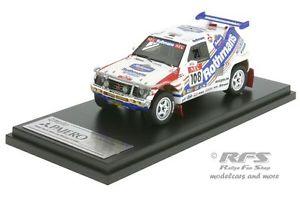 【送料無料】模型車 モデルカー スポーツカーパジェロラリーパリウェーバーmitsubishi pajero rallye parismoscowbeijing 1992weber 143 hpi 8931