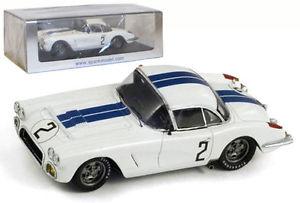【送料無料】模型車 モデルカー スポーツカースパークシボレーコルベット#ルマントンプソンスケールspark s1538 chevrolet corvette 2 le mans 1960 thompsonwindridge 143 scale