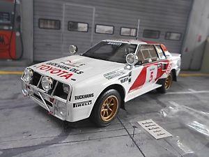 【送料無料】模型車 モデルカー スポーツカートヨタセリカターボラリーアフリカンサファリ#オットーtoyota celica twincam turbo gr b rally african safari 5 waldegard rar otto 11