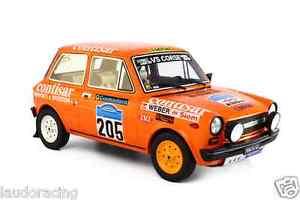 【送料無料】模型車 モデルカー スポーツカーアバルトラリーディロマーニャautobianchi a112 abarth 118 rally colline di romagna 1978 lm091b laudoracing