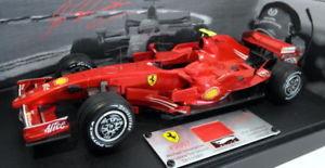 【送料無料】模型車 モデルカー スポーツカーホットホイールスケールフェラーリテストドライブミハエルシューマッハーフェラーリhot wheels 118 scale n5423 ferrari f2007 test drive michael schumacher ferrari