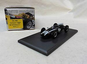 【送料無料】模型車 モデルカー スポーツカークーパーブラバム143 rl39 cooper t53 brabham by smts