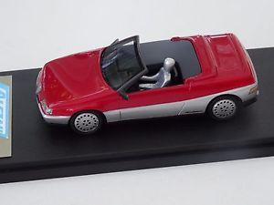 【送料無料】模型車 モデルカー スポーツカーモデルアルファロメオスパイダーピニンファリーナchestnut models 143 perennial alfa romeo spider pininfarina concept 1986