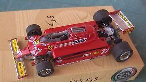 【送料無料】模型車 モデルカー スポーツカーフェラーリシーズンビルヌーブオープンferrari f 1 126 c 143 bosica season 1981 fds open villeneuve 27