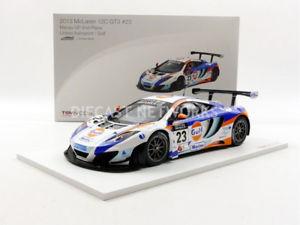 【送料無料】模型車 モデルカー スポーツカーミニチュアマクラーレングアテマラマカオtruescale miniatures 118 mclaren mp412c gt3 macau 2013tsm151836r