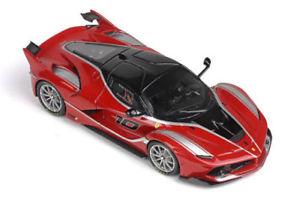 【送料無料】模型車 モデルカー スポーツカーフェラーリ#アブダビレッドシルバーグレーモデルferrari fxxk 10 abu dhabi 2014 red silver grey met bbr 143 bbrc1641 model