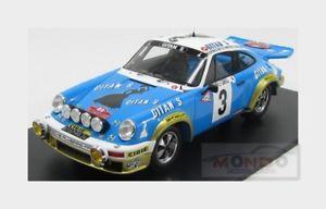 【送料無料】模型車 モデルカー スポーツカーポルシェ#ラリーモンテカルロスパークporsche 911 sc 30l gitanes 3 winner rally montecarlo 1978 spark 118 18s095 mo