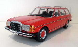 【送料無料】模型車 モデルカー スポーツカースケールメルセデスベンツモデルkk 118 scale resin kkdc180092 mercedes benz w123 t model red