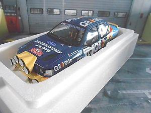【送料無料】模型車 モデルカー スポーツカーフォードシエラコスワースラリーモンテカルロフランソワデルクールオットーford sierra rs cosworth rally 4x4 monte carlo 1991 delecour q8 otto 118