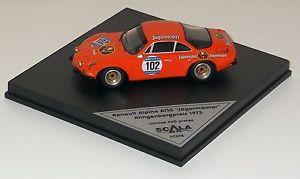 【送料無料】模型車 モデルカー スポーツカールノーアルパインレースブレードリングソリンゲンイェーガーマイスターテ143 renault alpine a110 mountain race blades ring solingen 1973 jgermeister te