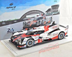 【送料無料】模型車 モデルカー スポーツカースパークトヨタハイブリッド#ルマン 118 spark 18s321 toyota ts050 hybrid, 24 hrs lemans 2017 7
