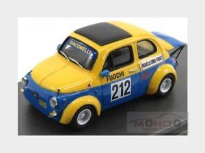 【送料無料】模型車 モデルカー スポーツカーフィアットアバルト#ムジェロカララモデルbfiat 500 abarth 595 giacomelli 212 mugello 1972 carraramodels 143 cm43b03 mo