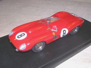 【送料無料】模型車 モデルカー スポーツカーフェラーリルマンエヴァンスリーダーモデルferrari 315 s 24 h le mans 1957 n8 lewins evans leader model 143 true