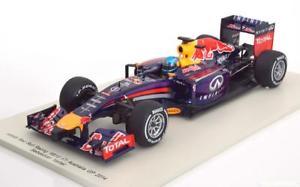 【送料無料】模型車 モデルカー スポーツカースパークレッドブルレーシングベッテル118 spark red bull racing rb10 vettel 2014
