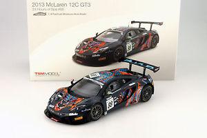 【送料無料】模型車 モデルカー スポーツカーマクラーレングアテマラ#スパスケールmclaren 12c gt3 88 24h spa 2013 118 true scale