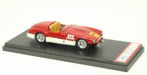 【送料無料】模型車 モデルカー スポーツカーフェラーリスパイダーferrari 166 mm spyder oblinliegeromemelior 1955