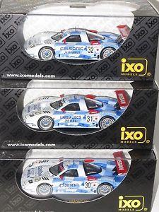 【送料無料】模型車 モデルカー スポーツカーグアテマラモータースポーツタワーカーチームルマンx3 143 nissan r390 gt1 nissan motorsports twr 3 car team le mans 24 hrs 1998