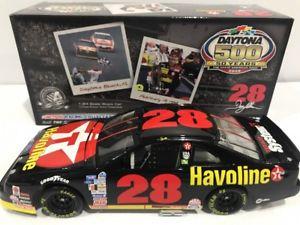 【送料無料】模型車 モデルカー スポーツカーテキサコフォードサンダーバードデイトナ1992 texaco havoline davey allison ford thunderbird daytona 500 winner 11236