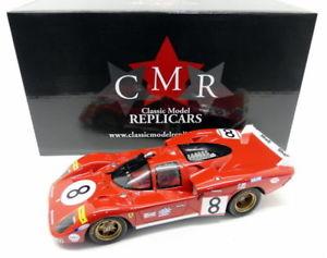 【送料無料】模型車 モデルカー スポーツカースケールフェラーリロングテール#ルマンcmr 118 scale resin 027 ferrari 512s long tail 8 24h le mans 1970