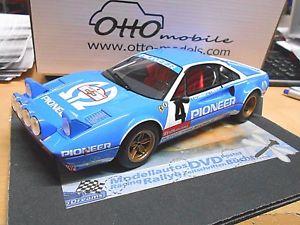 【送料無料】模型車 モデルカー スポーツカーフェラーリラリーパイオニア#ツアードフランスオットーferrari 308 gtb gr b rally pioneer 4 andruet tour de france otto rar 118