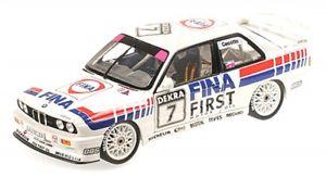 【送料無料】模型車 モデルカー スポーツカーチームフィナダブルブルノジョニーチェコットbmw m3 e30 7 team finabmw dtm 1992 double winner brno johnny cecotto