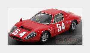 【送料無料】模型車 モデルカー スポーツカーフィアットアバルト#キロモンツァカララモデルbfiat ot 1300 abarth 54 1000km monza 1966 j ortner carrara models 143 cm43b06