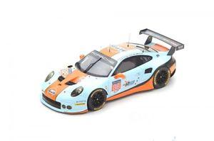 【送料無料】模型車 モデルカー スポーツカーポルシェガルフレーシングルマンウエインライトporsche 911 rsr gulf racing 86 lemans 2017 mwainwright bbarker n