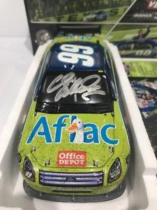 【送料無料】模型車 モデルカー スポーツカーカールエドワーズアフラックテキサスレースサインフォード2008 carl edwards aflac  texas race winner autographed ford