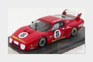 【送料無料】模型車 モデルカー スポーツカーフェラーリ#セブリングモデルメートルferrari 512bb lm 8 12h sebring 1983 mccomb mancuso fiala mg model 143 mgs105 m