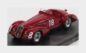 【送料無料】模型車 モデルカー スポーツカーアルファロメオクモ#タルアブルッツォmalfa romeo 6c 2500 ss spider 18 targa abruzzo 1939 alfamodel43 143 am43312 m