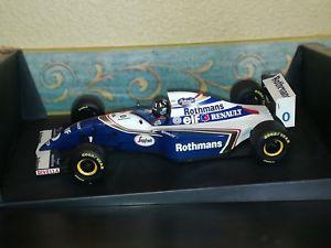 【送料無料】模型車 モデルカー スポーツカーウィリアムズヒルロスマンズwilliams fw16 d hill 1994 118 rothmans