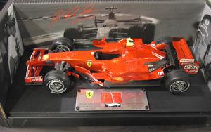 【送料無料】模型車 モデルカー スポーツカーフェラーリシューマッハホットホイールエリートフォーミュラカーf1 ferrari 2007 f2007 schumacher 118 d hot wheels elite formula 1 car n5423