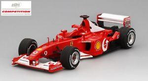 【送料無料】模型車 モデルカー スポーツカーフェラーリミハエルシューマッハフランスモデルferrari f2002 michael schumacher winner french gp 2002 bbr 143 bbrcs 002 model
