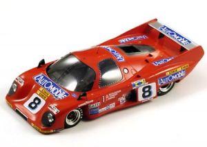 【送料無料】模型車 モデルカー スポーツカールマンrondeau m379c 8 lemans 1981