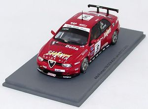 【送料無料】模型車 モデルカー スポーツカースパークモデルアルファロメオ#spark model alfa romeo 156 gta 3 etcc 2003 n s0453 143