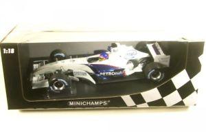 【送料無料】模型車 モデルカー スポーツカーザウバーテストバレンシアフォーミュラジャックsauber bmw c24b 17 test valencia formula 1february 2006 jacques
