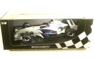 【送料無料】模型車 モデルカー スポーツカーザウバーテストバレンシアフォーミュラジャックsauber bmw c24b n17 test valencia formula 1february 2006 jacques